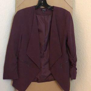 Grape color blazer